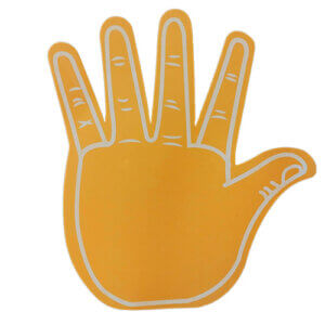 Foam-hand-high-5-orange